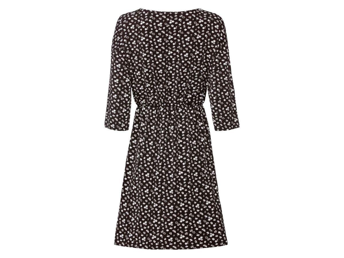 Bild 4 von ESMARA® Kleid Damen, in Wickeloptik, mit V-Ausschnitt