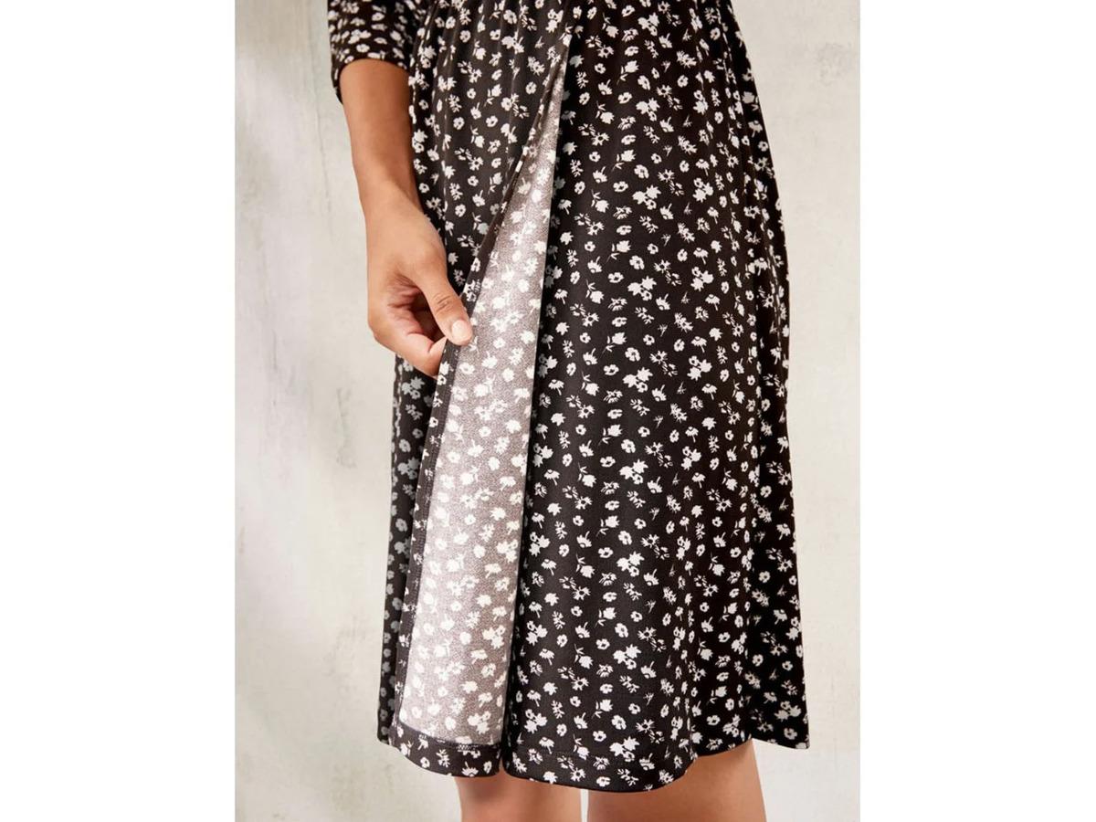 Bild 5 von ESMARA® Kleid Damen, in Wickeloptik, mit V-Ausschnitt