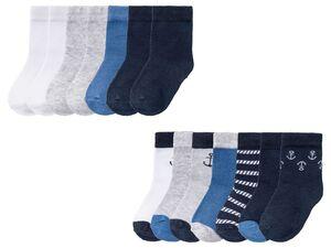 LUPILU® Kleinkinder Socken Jungen, 7 Paar