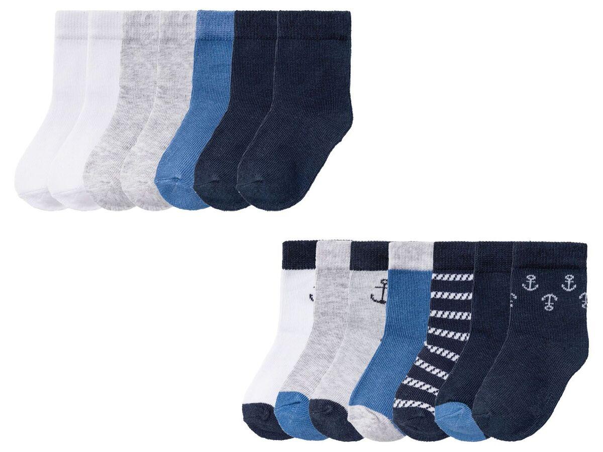 Bild 1 von LUPILU® Kleinkinder Socken Jungen, 7 Paar