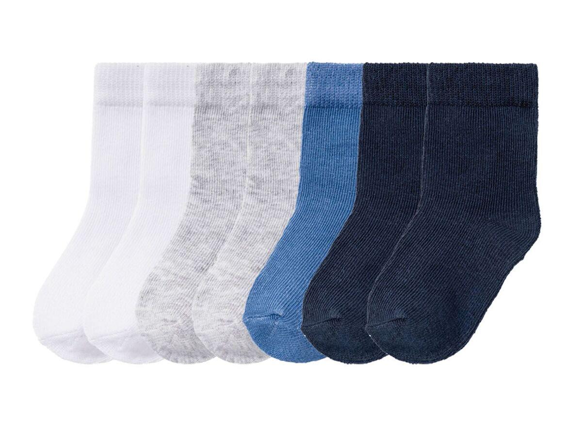 Bild 2 von LUPILU® Kleinkinder Socken Jungen, 7 Paar