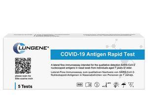 5er Set Clungene COVID-19 Rapid Antigen-Schnelltests
