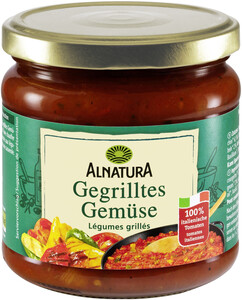 Alnatura Bio Tomatensauce Gegrilltes Gemüse 350ML