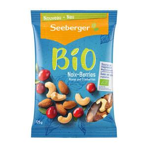 Seeberger Bio Nüsse und Cranberries 125G