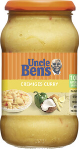 Uncle Ben's Sauce Cremiges Curry
