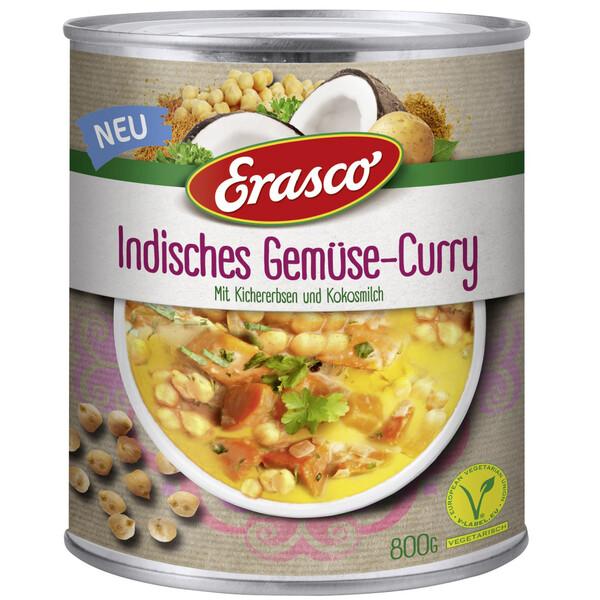 Erasco Indisches Gemüse-Curry 800 g