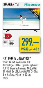 "43"" UHD TV"