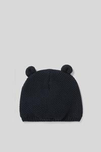 C&A Baby-Mütze-Bio-Baumwolle, Blau, Größe: 62 cm