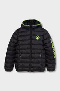 C&A Xbox-Steppjacke mit Kapuze, Schwarz, Größe: 176