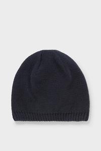 C&A Baby-Mütze-Bio-Baumwolle, Blau, Größe: 80 cm
