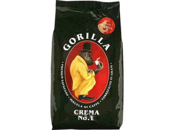 JOERGES Espresso Gorilla Crema No.1 Kaffeebohnen (Kaffeevollautomaten, Siebträger_ Espresso)