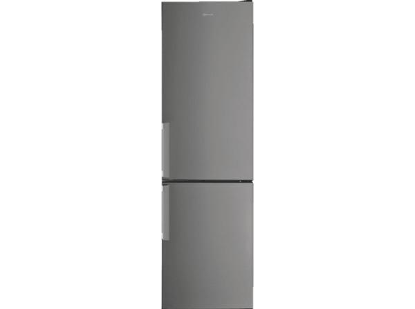 BAUKNECHT KGSF 202G IN 2 Kühlgefrierkombination (E, 2013 mm hoch, Edelstahloptik)