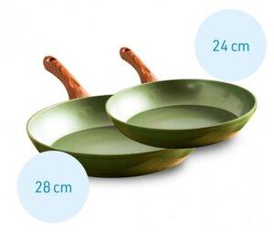 Ceravegan Bratpfannen 2er Set 24cm + 28cm