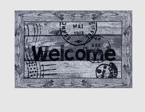 Schmutzfangmatte Welcome Border