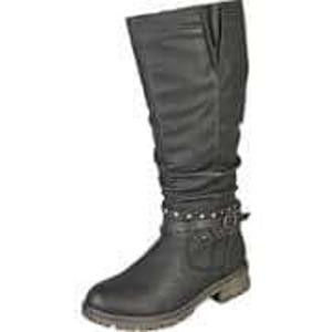 Inspired Shoes Stiefel Damen schwarz