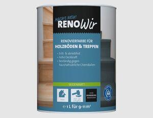 RENOWIR Renovierfarbe Holzböden & Treppen
