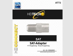 SAT Adapter F-Kupplung