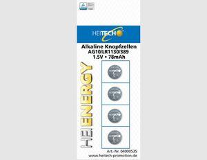 Knopfzellen AG10/LRII30/389