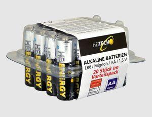 Batterie Mignon AA 20er.