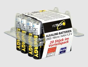 Batterie Micro AAA 20er