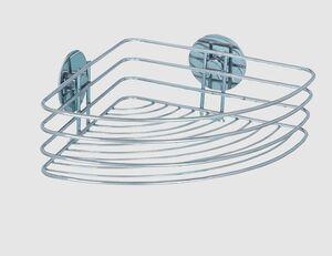 WENKO Eckablage Turbo-Loc silber