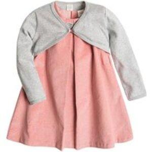 COOL CLUB Baby Kleid & Bollero für Mädchen 62CM