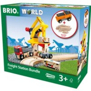 BRIO Super Bundle Frachtverladestation mit Batteri