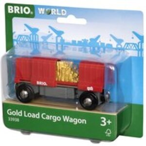 BRIO Container Goldwaggon D