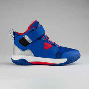 Basketballschuhe SP500 Spider Lace Kinder blau/rot