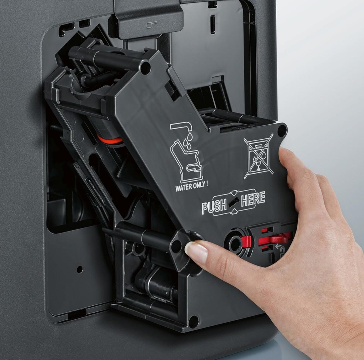 Bild 3 von SIEMENS EQ.6 plus s700 TE657M03DE Edelstahl, schwarz Kaffeevollautomat (coffeeSelect Display, autoMilk Clean, oneTouch DoubleCup, beleuchtetes Tassenpodest, iAroma System)