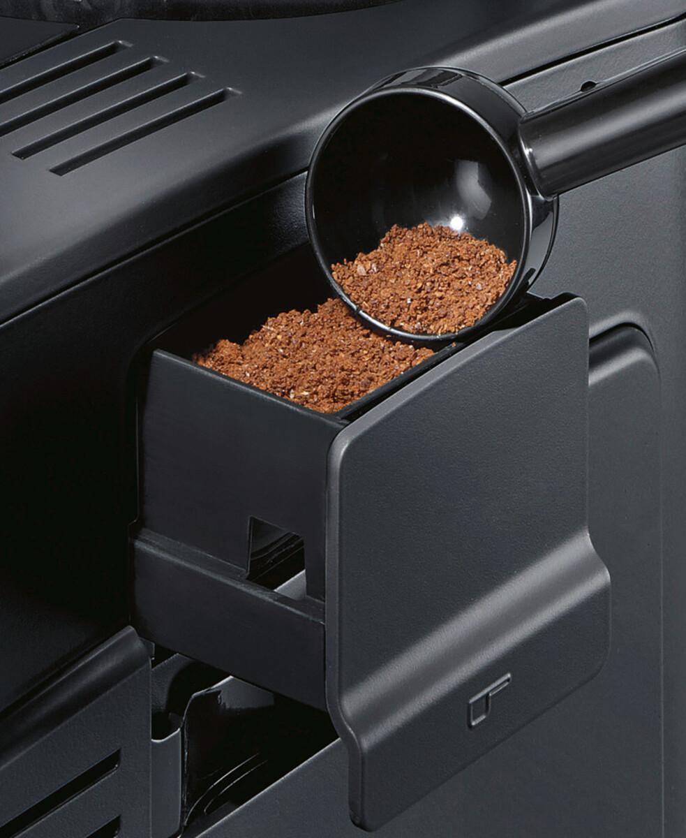 Bild 4 von SIEMENS EQ.6 plus s700 TE657M03DE Edelstahl, schwarz Kaffeevollautomat (coffeeSelect Display, autoMilk Clean, oneTouch DoubleCup, beleuchtetes Tassenpodest, iAroma System)