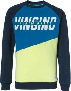 Sweatshirt  blau/gelb Gr. 152 Jungen Kinder