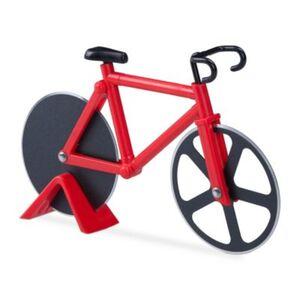 Fahrrad Pizzaschneider rot