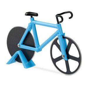 Fahrrad Pizzaschneider blau