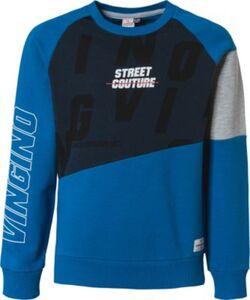 Sweatshirt NAGDO  blau-kombi Gr. 164 Jungen Kinder