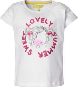 Baby T-Shirt  weiß Gr. 68 Mädchen Baby