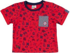T-Shirt  rot Gr. 80 Jungen Kinder