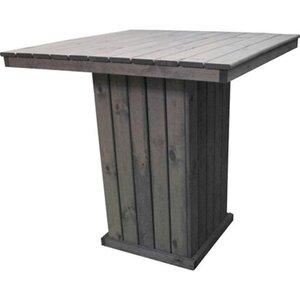 Promadino Barlounge Grömitz Tisch, Grau
