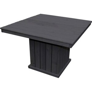 Promadino Holz-Tisch St. Peter Ording, Anthrazit