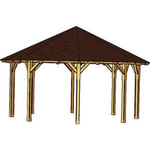 Skan Holz Pavillon Lyon Größe 3