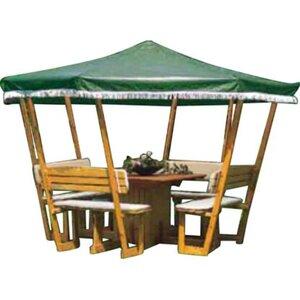 Promadino Ersatzdach für Pavillon Rosenheim,grün