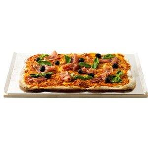 Weber Pizzastein rechteckig mit Alublech