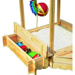 Promadino Sitz- & Bugbox für Sandkasten Peter