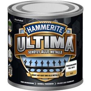 Hammerite Ultima Premium Metall-Schutzlack matt Verkehrsweiß 250 ml