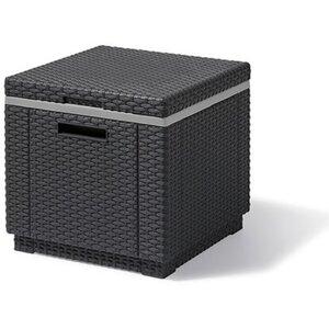 Allibert ICE-Cube Kühlbox Graphit Grau 42x42x38 cm