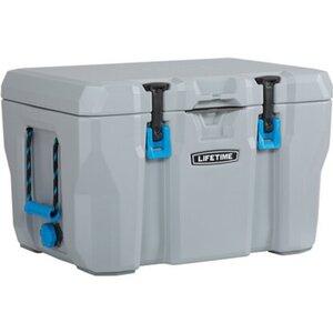 Kühlbox Kunststoff dunkelgrau mit Tragegriffen ( BxHxT ) 68 x 44 x 45 cm