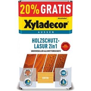 Xyladecor Holzschutz-Lasur 2in1 Kiefer 4 + 1 l