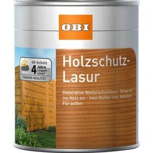 OBI Holzschutz-Lasur Teak 750 ml