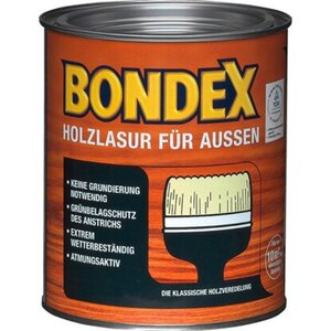 Bondex Holzlasur für Außen Farblos seidenglänzend 750 ml
