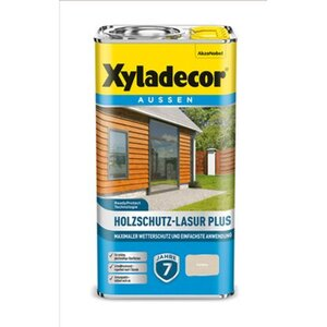 Xyladecor Holzschutz-Lasur Plus Farblos 4 l